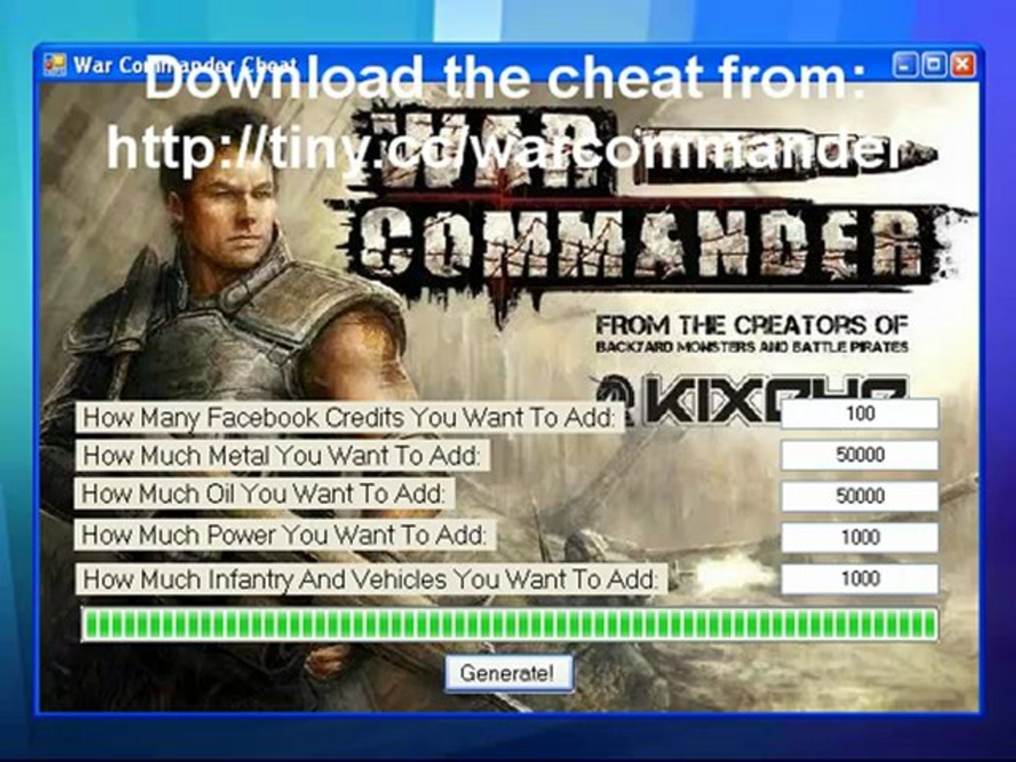 War Commander Cheat [War Commander Hack]