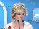 """Aguirre: """"Las medidas de Rajoy afectarán a Madrid"""""""