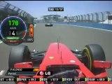 F1 2012 GP Europa Alonso Onboard Overtakes Maldonado Race Lap [HD] Engine Sounds