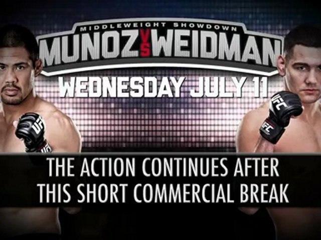 Replay UFC on FUEL TV 4 Munoz vs Weidman