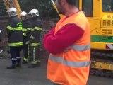 Avesnelles fuite de gaz dans la rue de Clairfayt