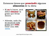 Tipos de alimentos a evitar comer para bajar de peso urgente