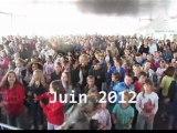 Flashmob du Conseil Municipal Enfants à Carquefou pour la Fête de la musique