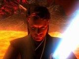 Star Wars Episode III (Deleted Scenes) - Mustafar Duel Animatics