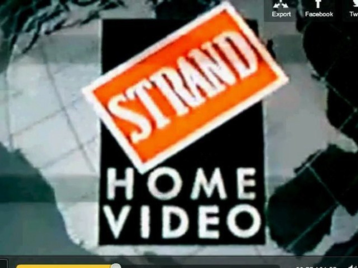 Talk To The Strand Home Video Logo