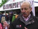 Tanguy De Lamotte pédale pour Mécénat Chirurgie Cardiaque aux 24H du Mans