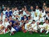 Football Victoire coupe du monde 1998 - France 3-0 Brésil