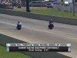 Angie Smith : les freins de sa moto lachent