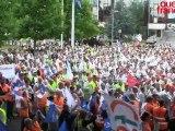 PSA. Manifestation historique à Rennes