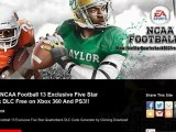 How to Install NCAA Football 13 Exclusive Five Star Quarterback DLC