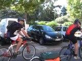 Etape des cyclistes de Saules en Cycles à Saint Mandrier