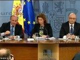 Consejo de Ministros aprueba recortes anunciados por Rajoy