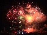 Fête Nationale : grand feu d'artifice pyromusical