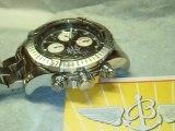 Breitling Super Avenger Black Dial Numeral,White Subdials REVIEW. BLUE FLAME DIAMONDS