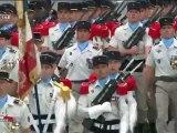 Défilé du 14 juillet 2012 1er régiment chasseurs parachutistes