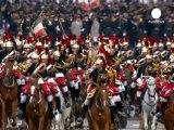 Hollande joins Bastille Day celebrations in Paris