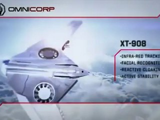 ED-209 and XT-908 viral video - Viral ED-209 and XT-908 viral video (Anglais)