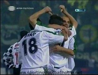 Boavista - 2 Sporting - 2 de 1998/1999