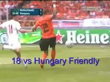 Van Persie 29 Holland goals between 2005/end of euro 2012