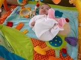 Margaux à 3 mois et demi (le 14 juillet 2012)