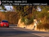 Fiat Punto - Fiche technique France