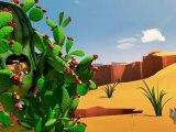 Green cactus, red cactus, 1, 2, 3