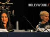 Mila Kunis talks about 'OZ: The Great and Powerful'! - Hollywood.TV