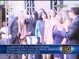 """Globovisión triunfa en categoría """"Mejor Canal de Señal Abierta"""" en Premios P&M"""