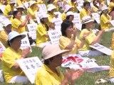 Rassemblement du Falun Gong devant le Capitol