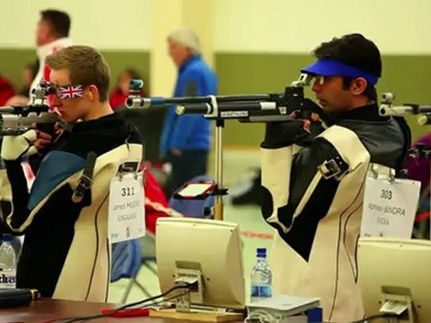Travelling With The Pros - Abhinav Bindra in Luxembourg