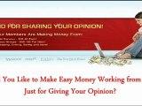 Paid Surveys | Get Paid to Take Surveys | Ways to Make Money | How to Make Extra Money