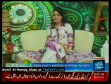 Mast Mornings With Sadia Imam - 19th July 2012 - Part 2/3