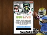 Get Free NCAA Football 13 Power Pack DLC - Xbox 360 - PS3