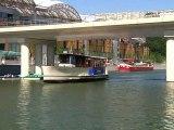 Le Vaporetto, une navette fluviale pour visiter Lyon