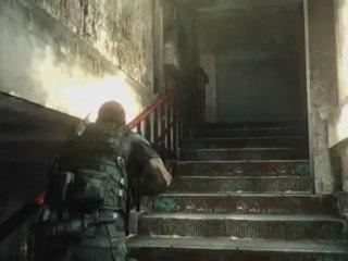 Chris Redfield SDCC panel footage de Resident Evil 6