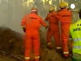 Battling fires on Portugal's Madeira island