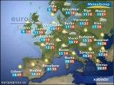 Descenso generalizado de las temperaturas