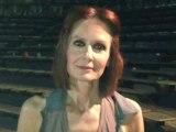 """Η Κάτια Δανδουλάκη στη ΔΥΤΙΚΗ μετά την κωμική παράσταση """"Να ζει κανείς ή να μη ζει"""" στην Κοζάνη"""