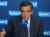 """Pour Fillon, """"Montebourg tire dans le dos"""" de PSA"""