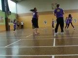 chorégraphie des enfants de l'activité danse de sports vacances du 20/07/2012
