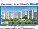Ajnara Homes Sector 121 Noida @ +919999684905, Ajnara Homes 121 Noida