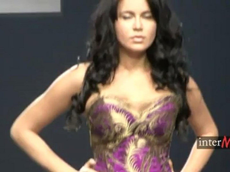 Nadia Slavina.  Сияние . Осень-зима 2011-12. 2ч