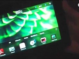 RIM presenta PlayBook en detalle