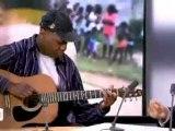 Tedjee : l'artiste guyanais chante du Taubira en direct