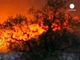 Emergenza incendi in Portogallo, feriti 6 pompieri