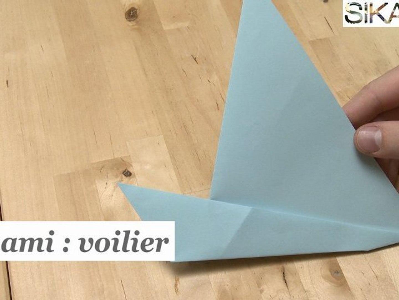 Origami Comment Faire Un Voilier En Papier Hd Video Dailymotion