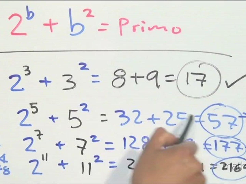 Encontrar todas las parejas de primos (a,b) que cumplan a^b b^a sea primo