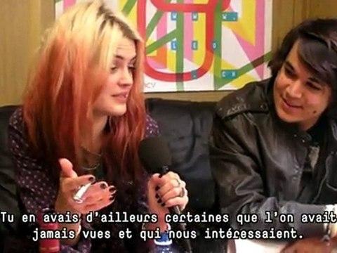 Paléo 2012 - Interview The Kills (Alison Mosshart) & Mehdi Benkler