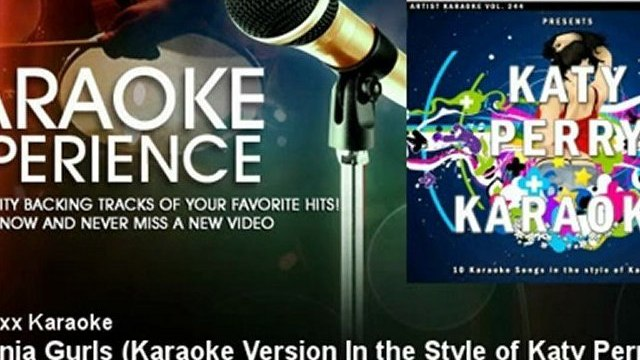 Charttraxx Karaoke - California Gurls - Karaoke Version In the Style of Katy Perry