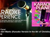 A-Type Player - What a Girl Wants - Karaoke Version In the Art of Christina Aguilera